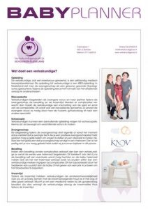 Gericht Media - Babyplanner Verloskundigenpraktijk Schouwen Duivenland