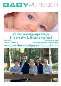 Gericht Media - Babyplanner Verloskundigenpraktijk Sliedrecht en Bleskensgraaf