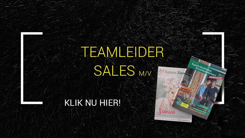 GerichtMedia vacature Teamleider Sales