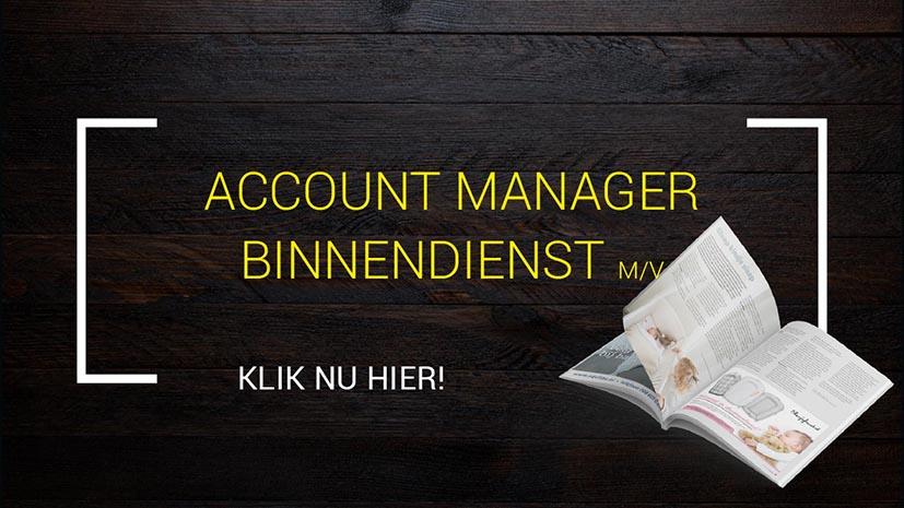 GerichtMedia vacature accountmanager binnendienst